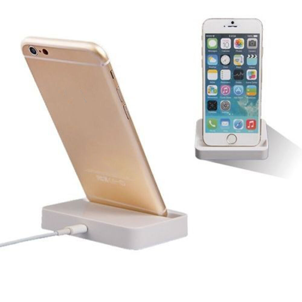 universal dock charger docking station stand adapter for iphone 6 6plus ebay. Black Bedroom Furniture Sets. Home Design Ideas