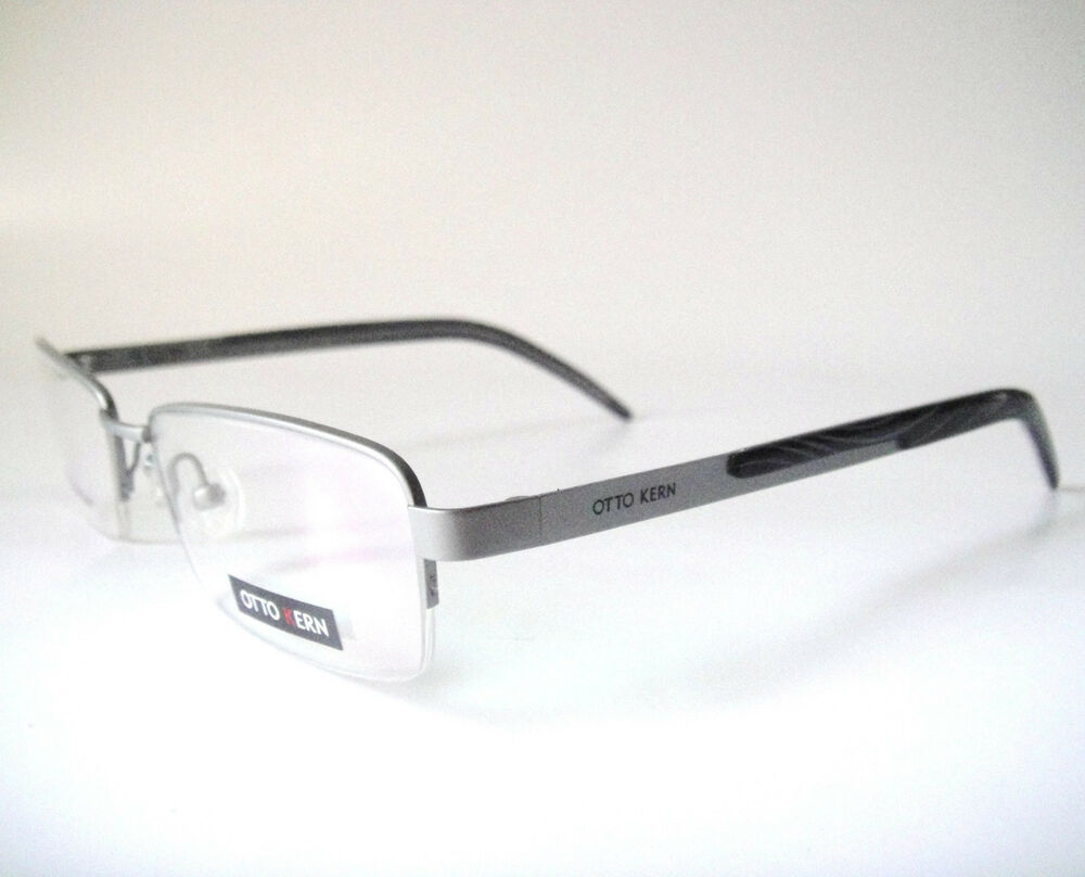 Glasses Frames Germany : Otto Kern Beta Titanium 51-16 Germany Silver Eyeglass ...
