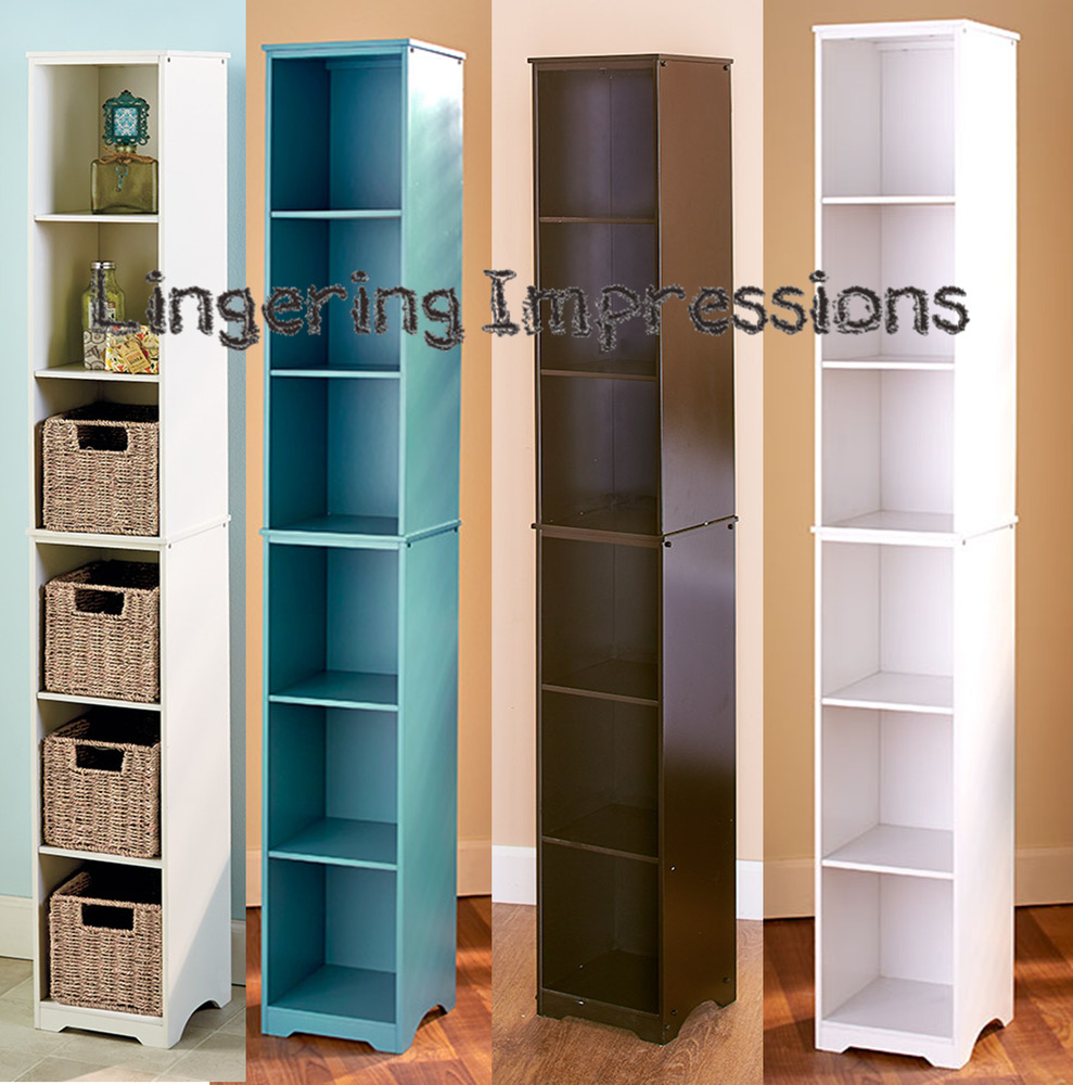 kitchen tower cabinet slim wood storage tower cabinet cubbies for bathroom 3380
