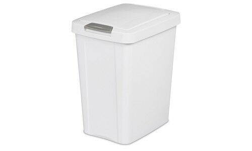 Sterilite 174 7 5 Gallon Touchtop Wastebasket Trash Can With
