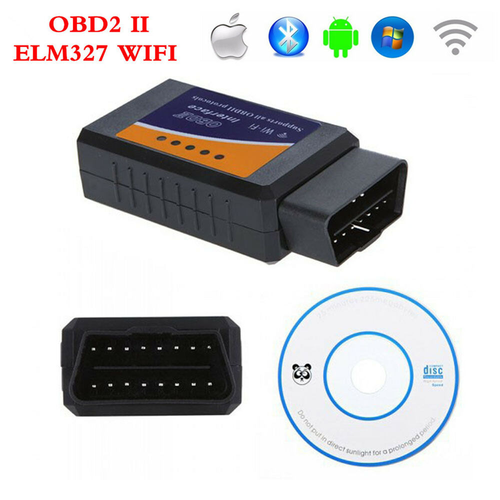elm327 wifi wireless obd2 obdii interface auto car diagnostic scanner scan tool ebay. Black Bedroom Furniture Sets. Home Design Ideas