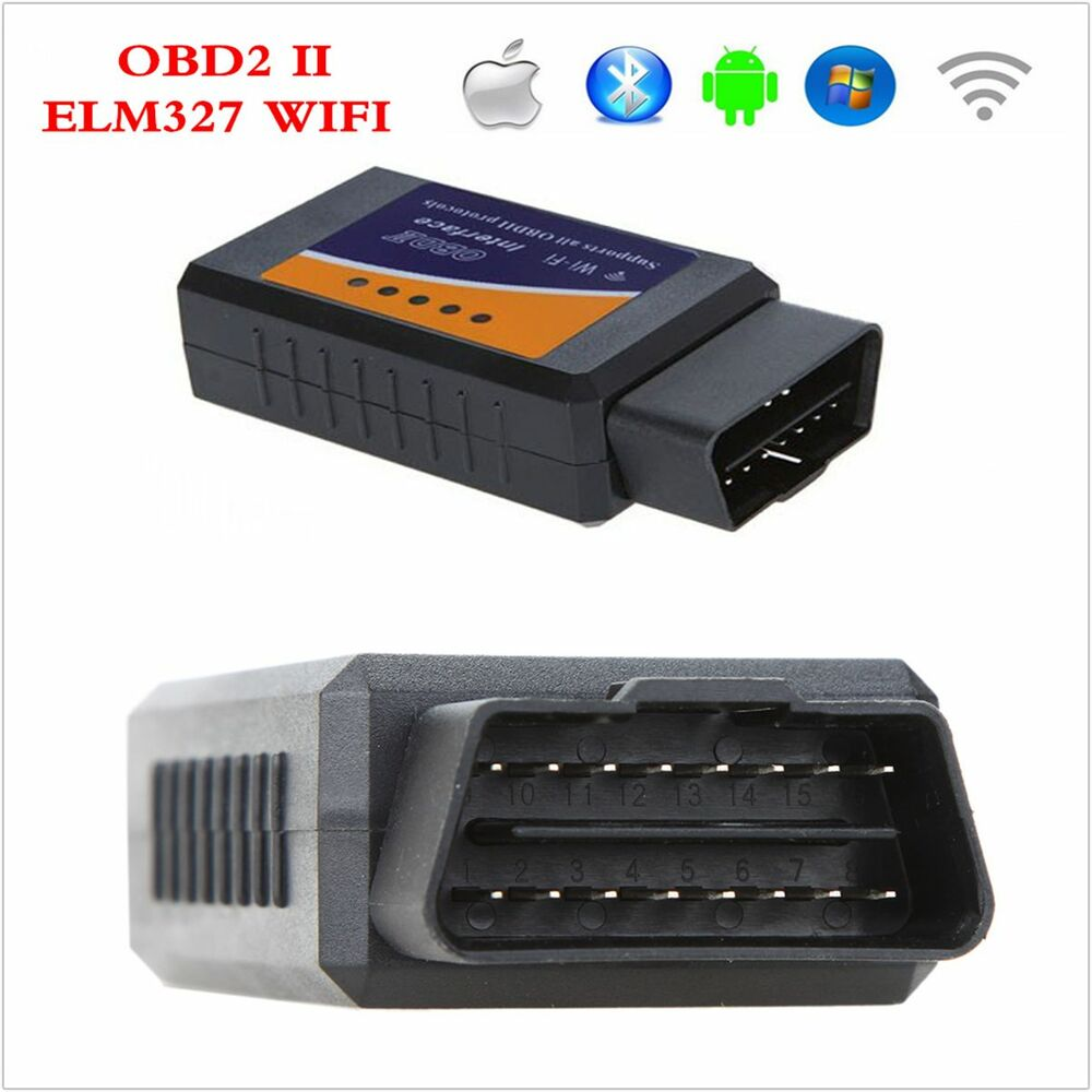 Auto BT Car Diagnostic Scanner OBD2 II ELM327 Support IOS