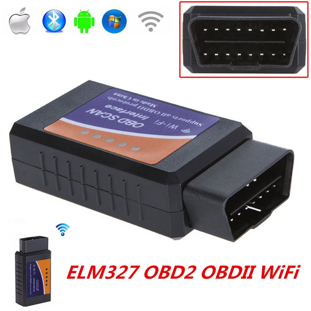 elm327 obdii obd2 interface wifi car diagnostic scanner auto scan tool adapter ebay. Black Bedroom Furniture Sets. Home Design Ideas