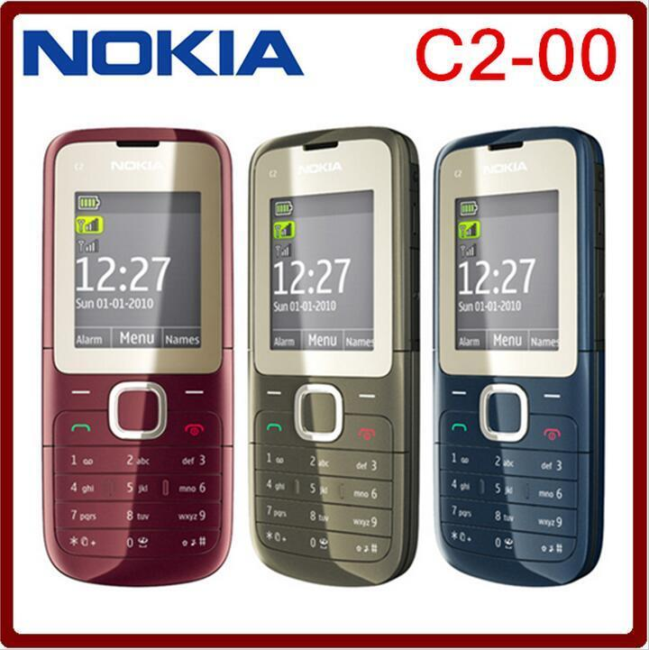 nokia c2 00 c2 dual sim phone unlocked fm bluetooth mp3. Black Bedroom Furniture Sets. Home Design Ideas