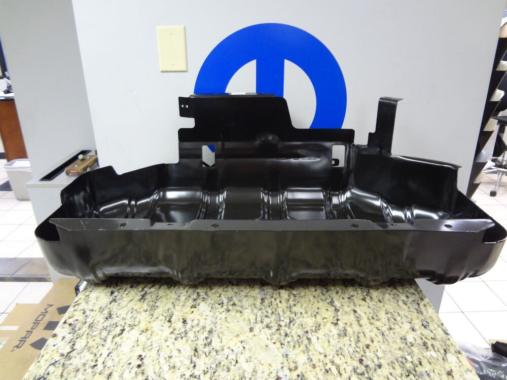 97 06 Jeep Wrangler Tj Fuel Gas Tank Skid Plate Cover