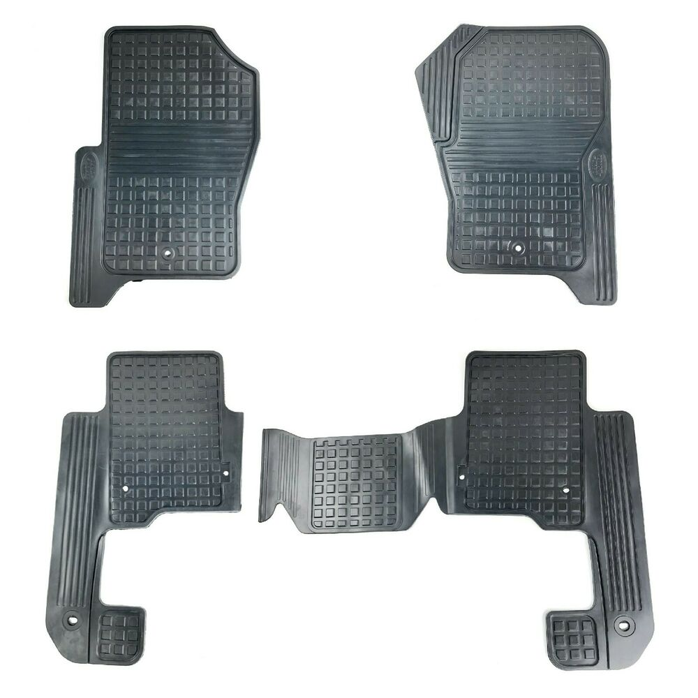 2013 2016 Land Rover Lr4 Heavy Duty Rubber Floor Mat Set