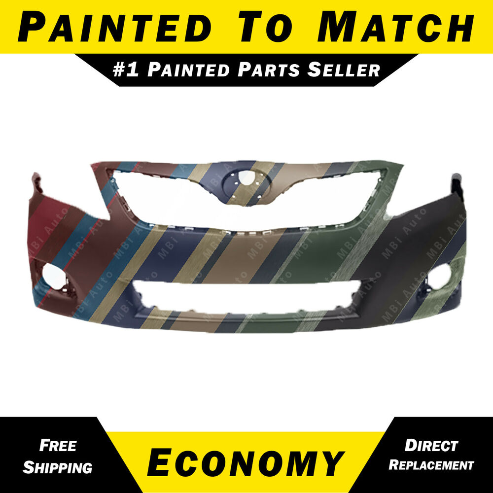 New Painted To Match Front Bumper Cover For 2010 2011 Toyota Camry Usa Le Xle Ebay