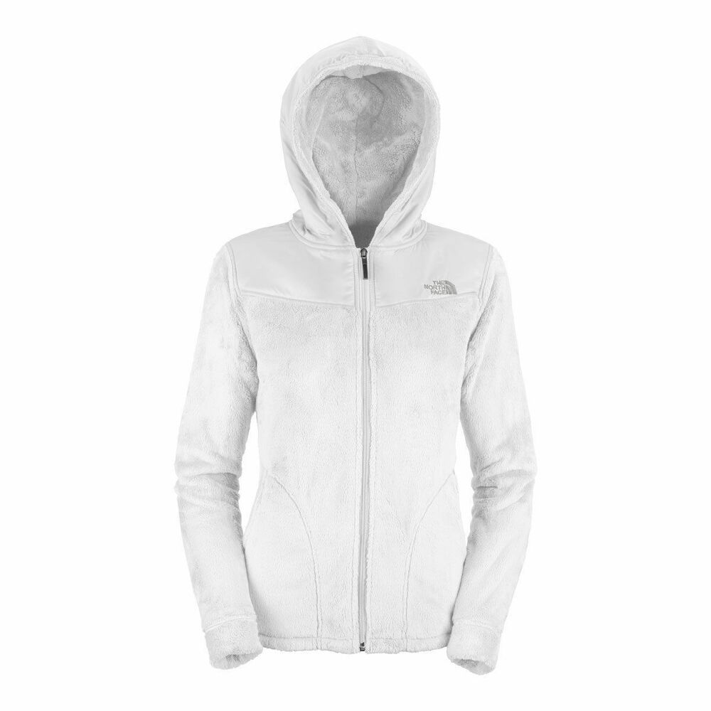 Nwt The North Face Womens Oso Hooded Fleece Jacket White
