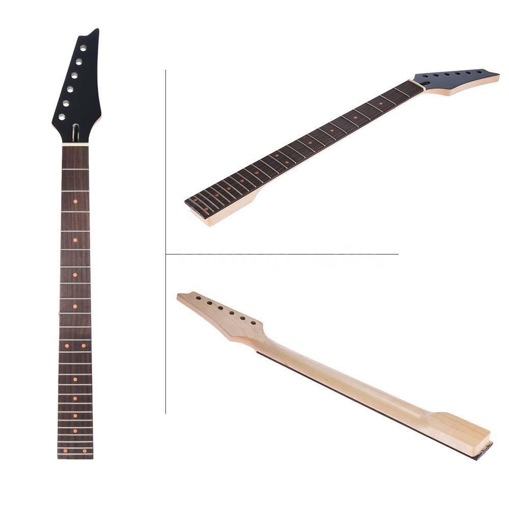 Electric Guitar Neck : 24 frets replacement maple neck rosewood fretboard for electric guitar t6o5 ebay ~ Russianpoet.info Haus und Dekorationen