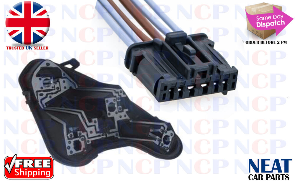 Peugeot 308 Rear Tail Light Bulb Holder Amp Wiring Connector