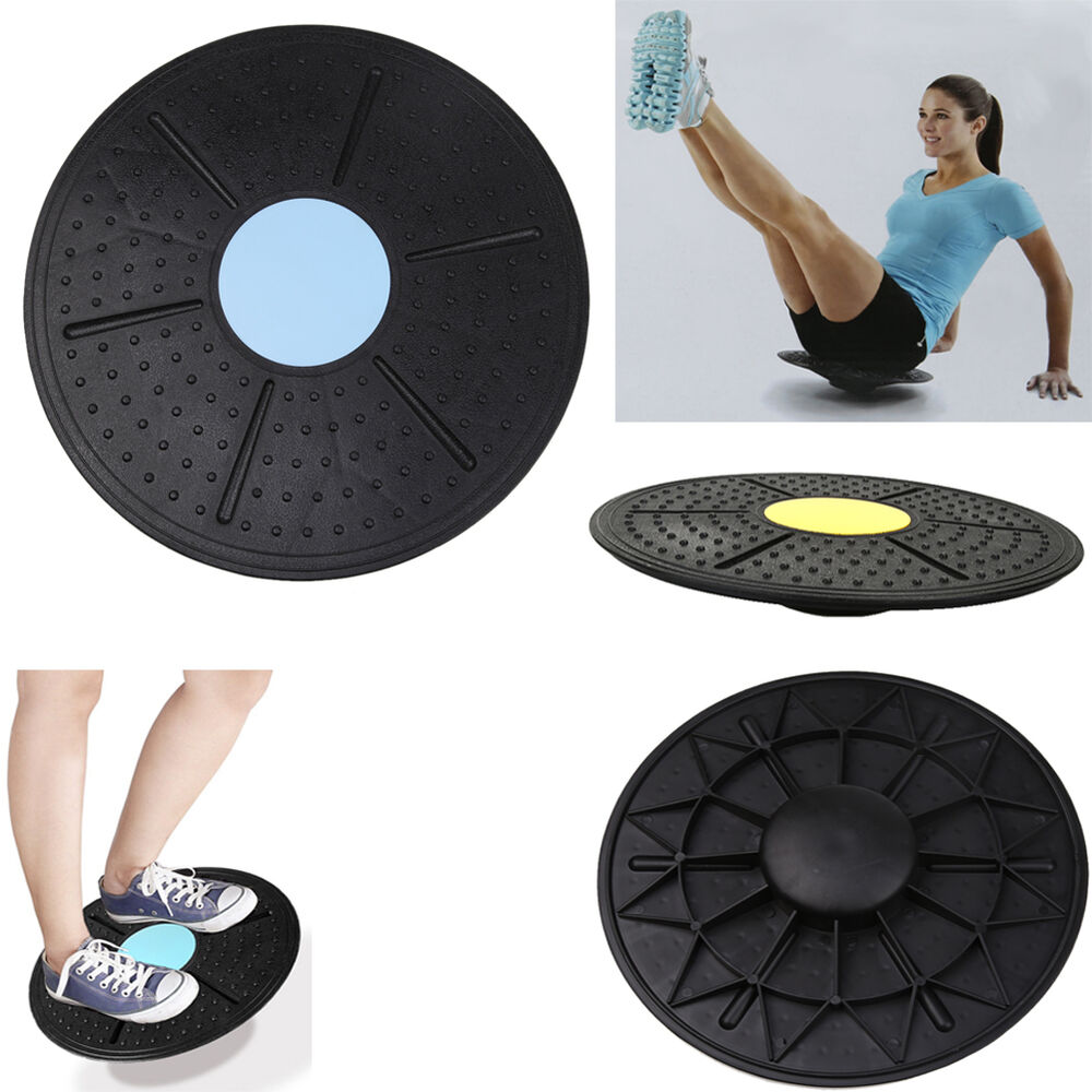 Balance Board Exercises For Back: Wobble Balance Board Stability Disc Yoga Training Muscle