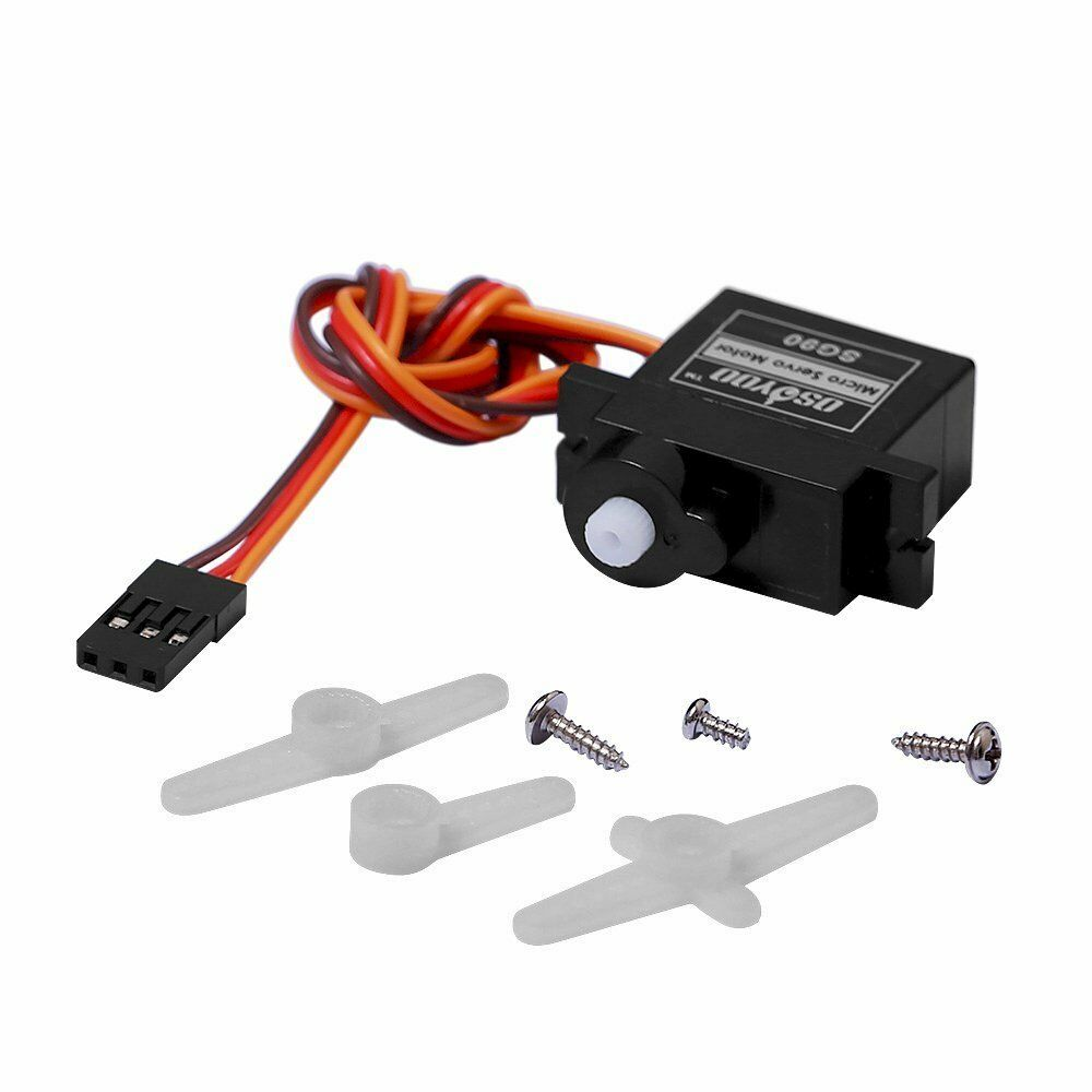 Sg90 Servo Motor Micro Mini Gear 9g Servo For Rc Airplane