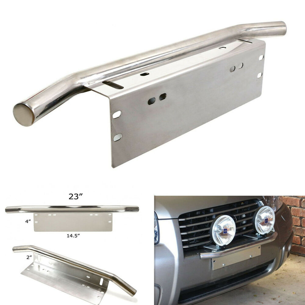 Ebay Motors Fees >> Car Offroad Light/LED Light Bar Front Bumper License Plate Mount Bracket Holder | eBay