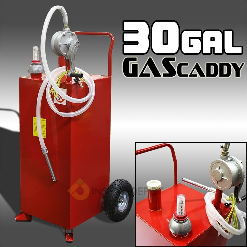 Transferable Container House: Pro 30 Gallon Gas Fuel Diesel Caddy Transfer Tank