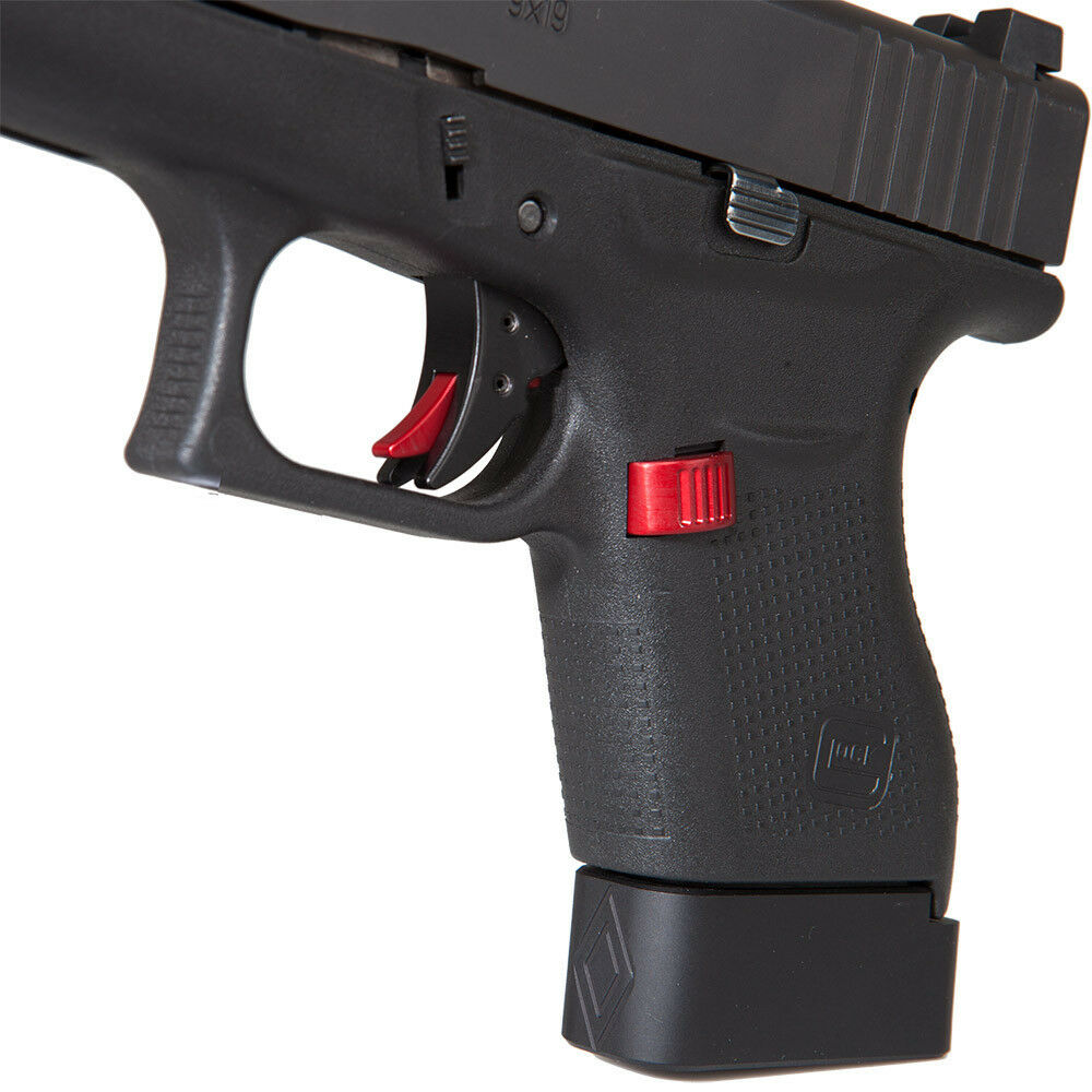Extended Magazine Release Button For Glock 43 1119 Ebay
