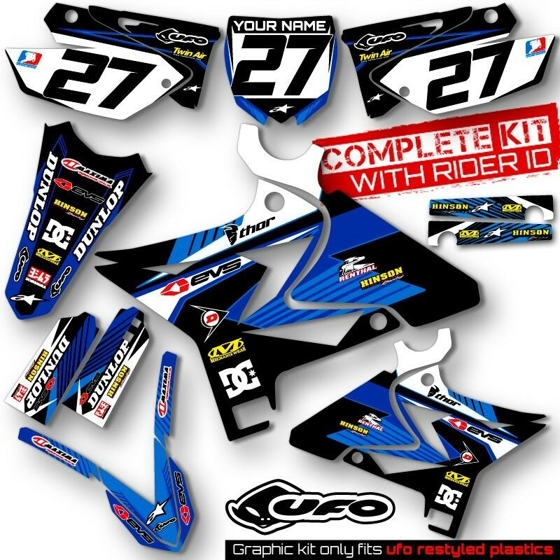 2002 2016 yamaha yz 125 250 restyle ufo dirt bike mx graphics kit decals deco ebay