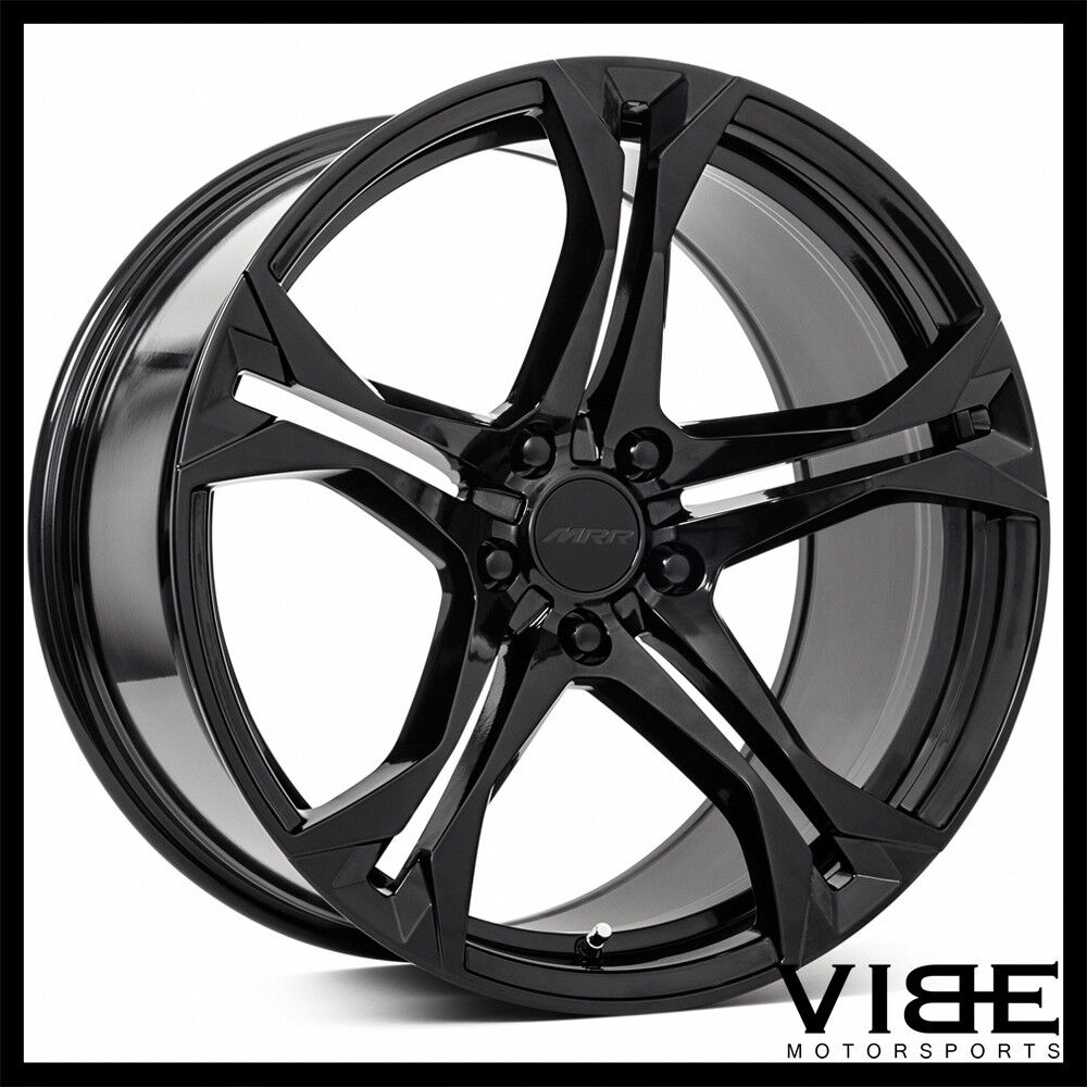 20 Quot Mrr M017 Gloss Black Concave Wheels Rims Fits