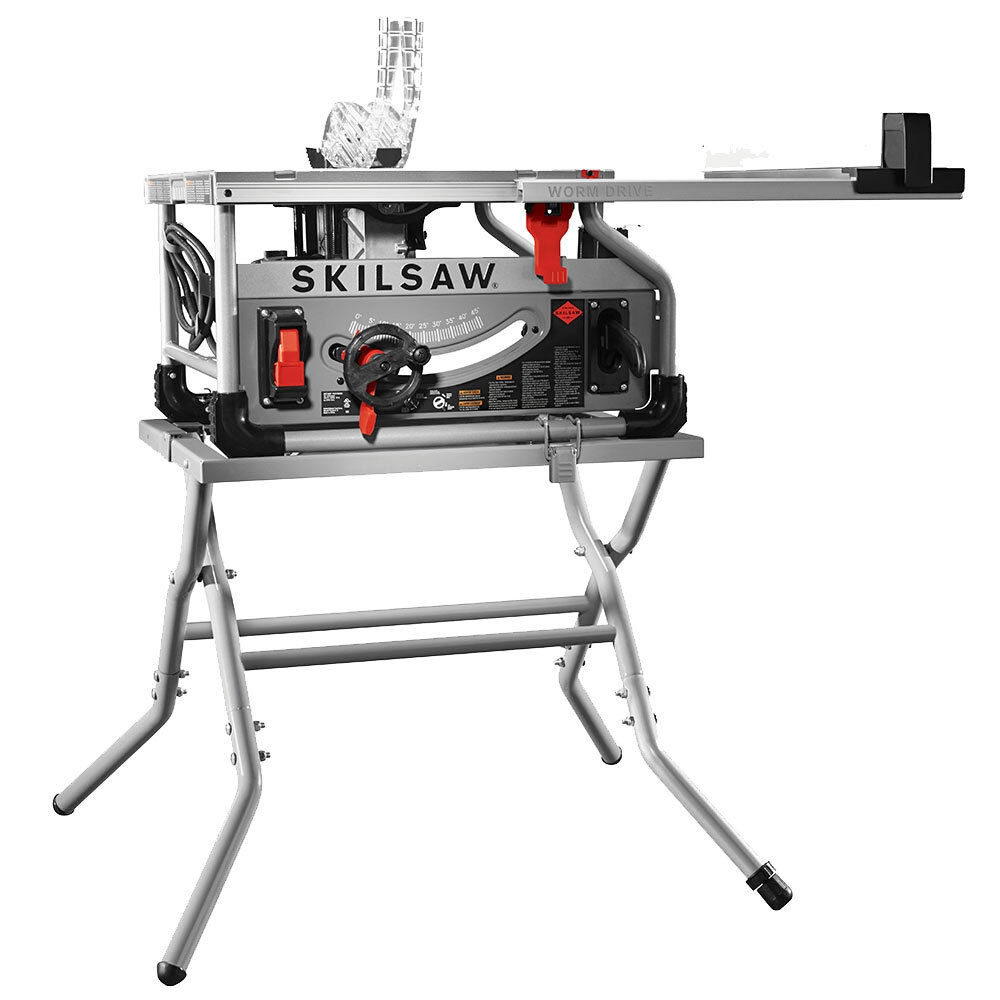 Skil 10 39 39 Worm Drive Table Saw W Diablo Blade And Stand Spt70wt 22 New Ebay