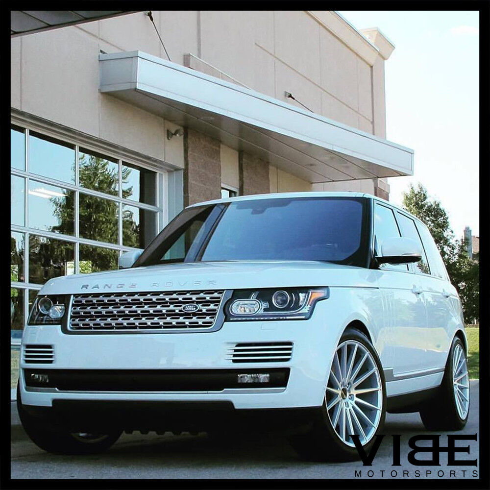 """Sell Used 2006 Land Rover Range Rover Sport Hse Sport: 24"""" GIANELLE VERDI SILVER CONCAVE WHEELS RIMS FITS RANGE"""