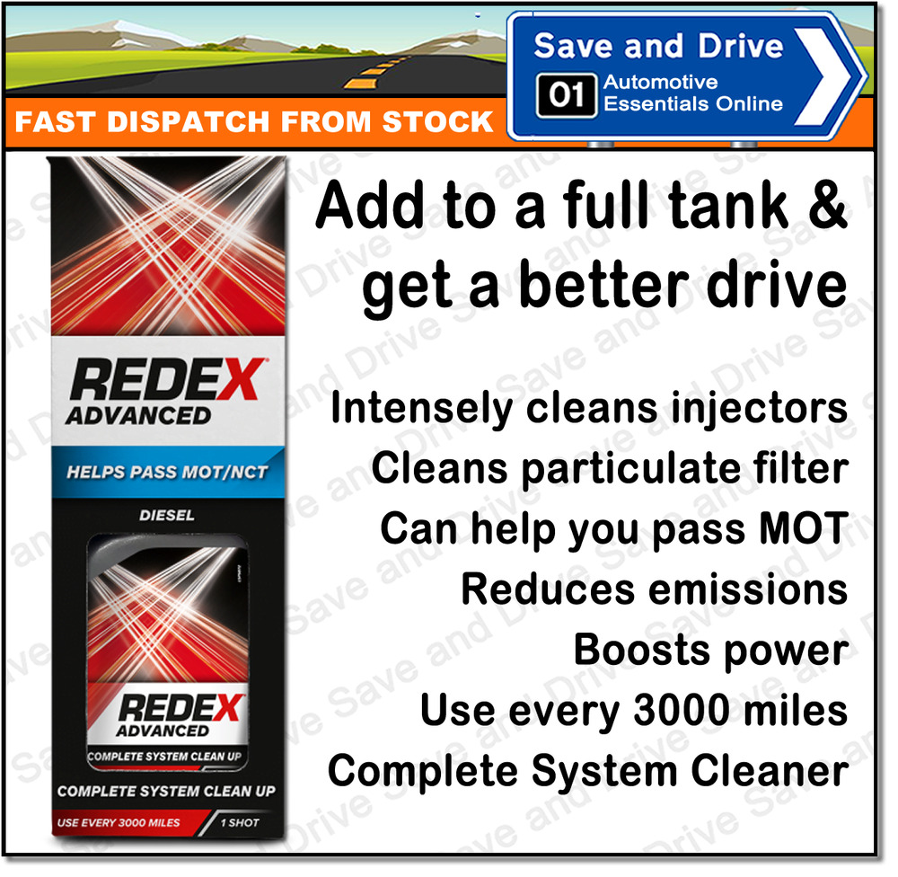 Redex Diesel Advanced Concentrated Car Fuel System Injector Cleaner
