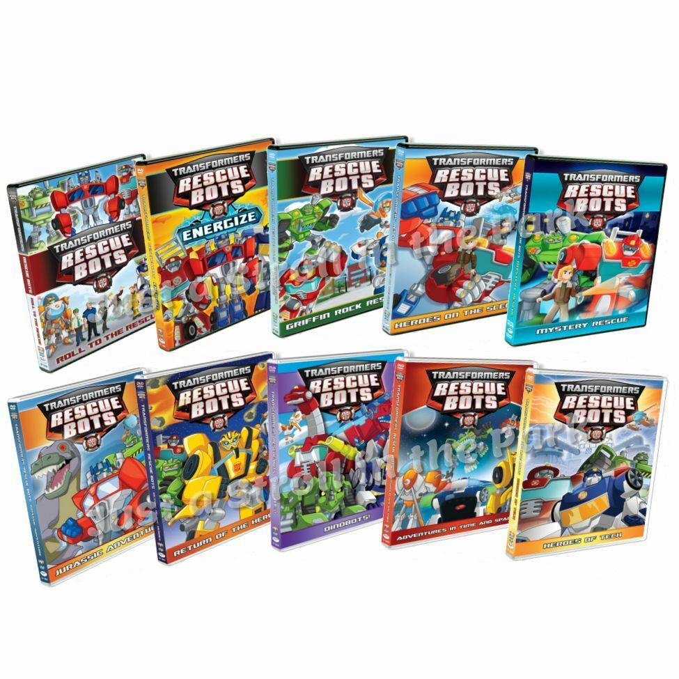 transformers rescue bots tv series complete 10 volumes box dvd