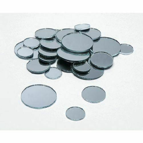mini small craft round mirrors mosaic tiles assortment 1 2