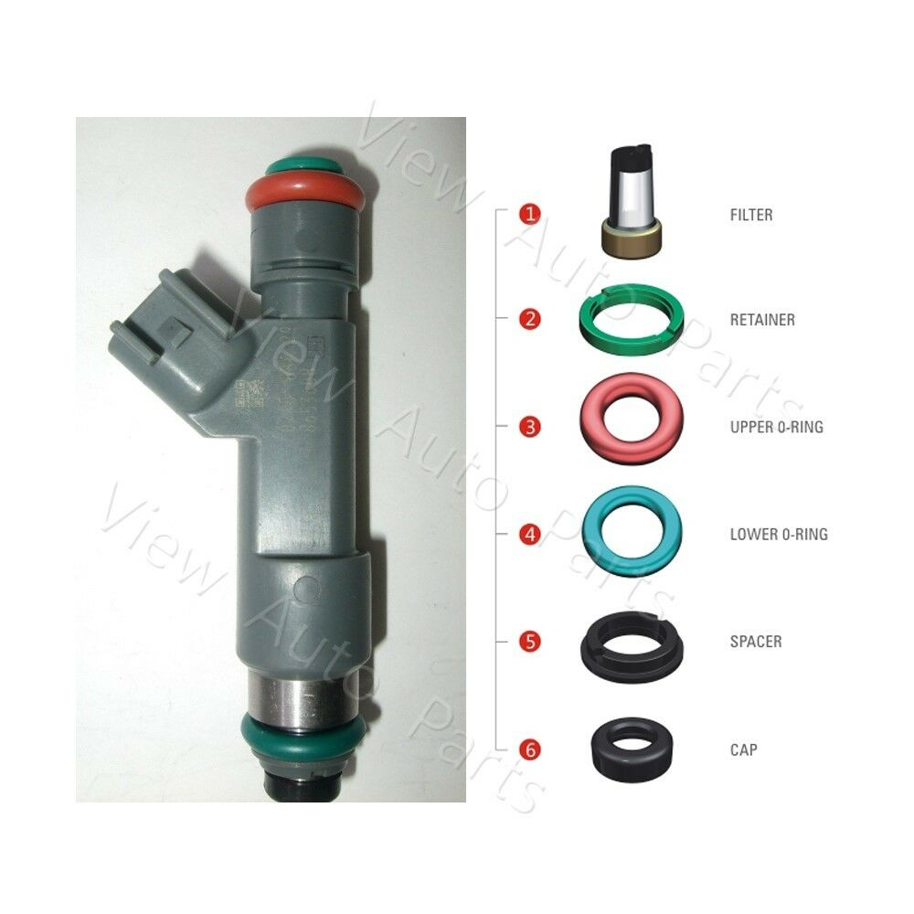 For Volvo S80 Xc90 4 4l Denso Fj1073 Fuel Injector Repair