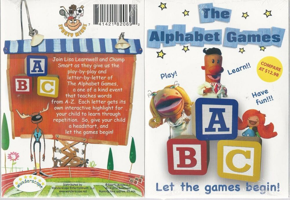 I a celebrity dvd games for kids