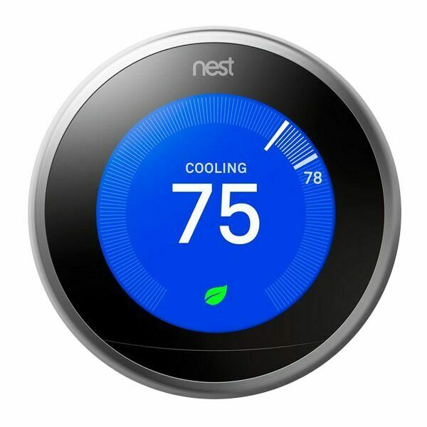 nest 3rd generation - learning thermostat - 3h  2c
