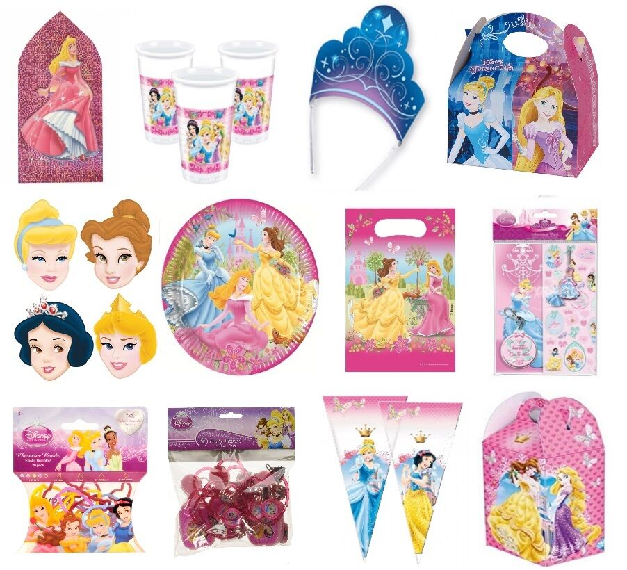 Disney Princess Birthday Party Supplies