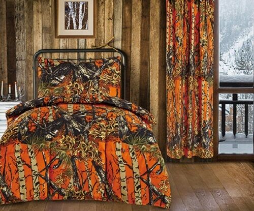 CAMO Sheets & Comforter TWIN BEDDING SET By Regal Comfort