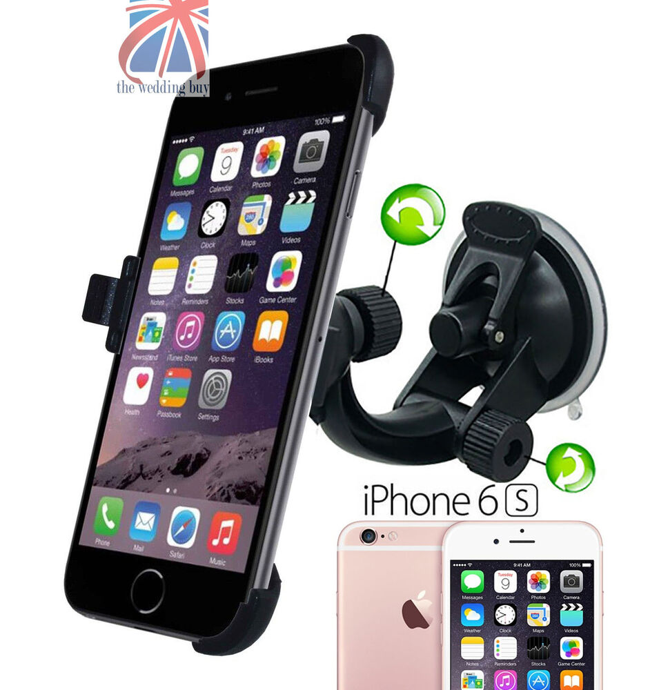 iphone dash mount 360 176 rotating windshield suction car holder mount cradle 2115