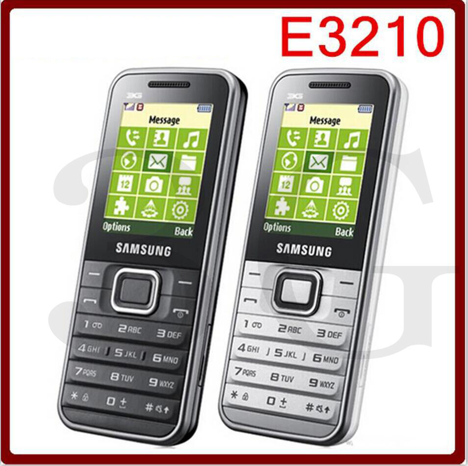 e3210 original unlocked samsung gt e3210 3g bluetooth mobile phone ebay. Black Bedroom Furniture Sets. Home Design Ideas