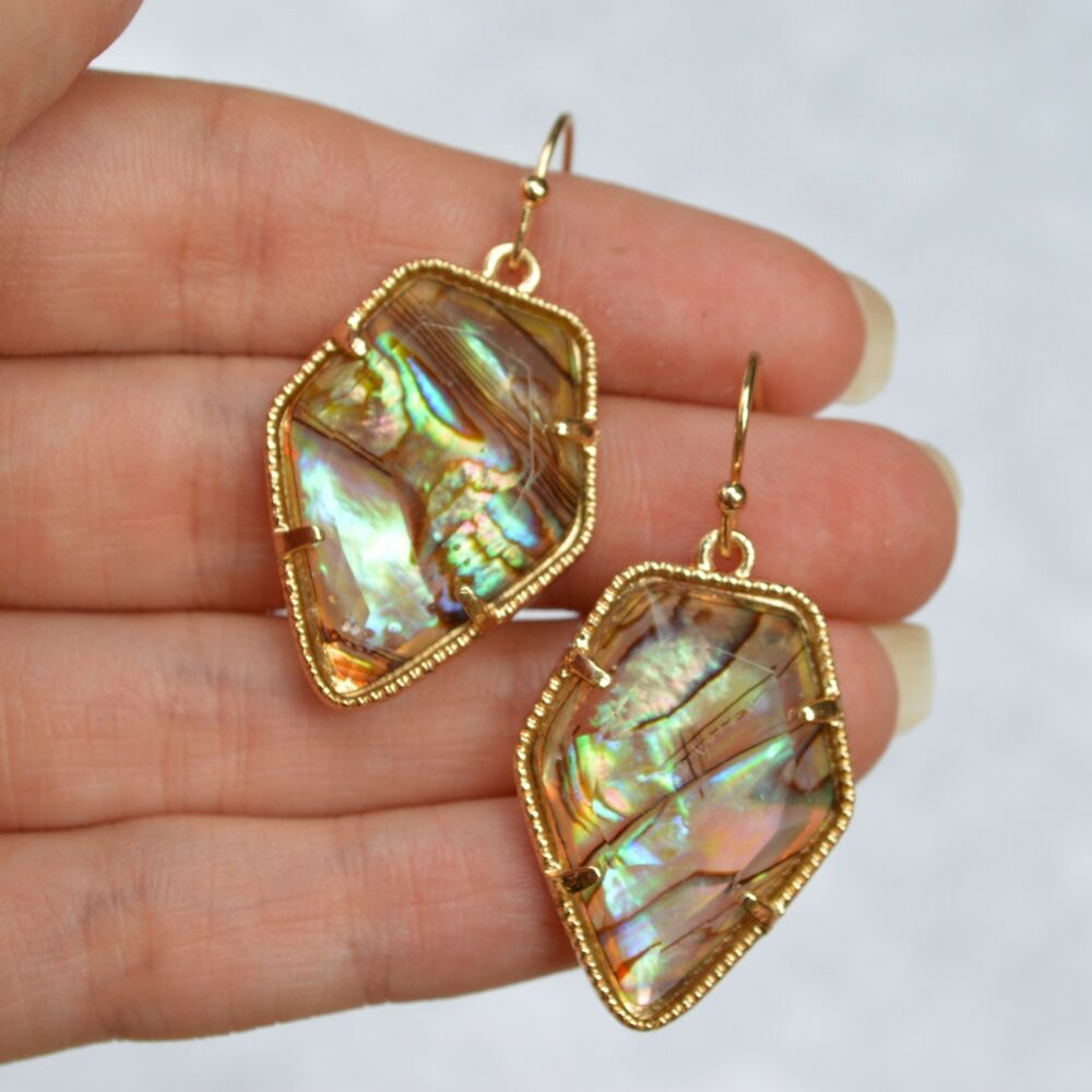 what are earrings abalone earrings pearl multi colored drop ebay 8185