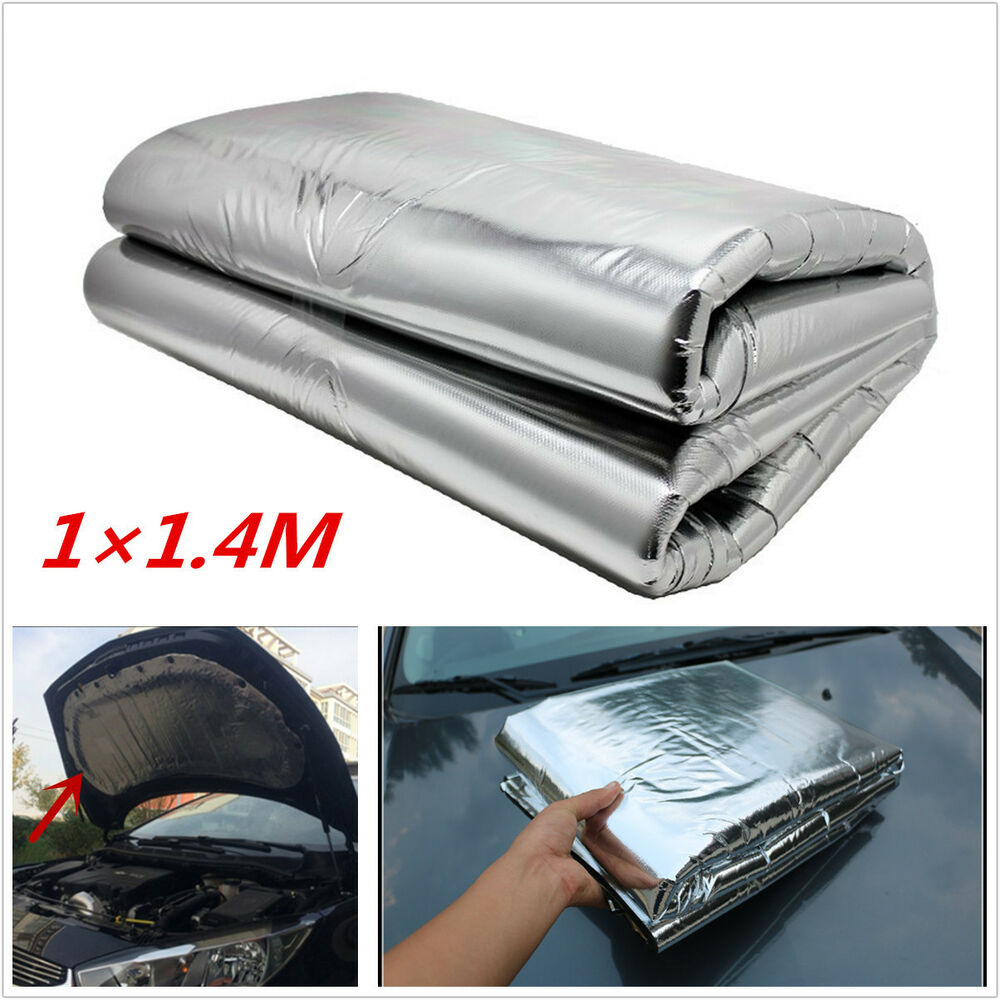 Car Exhaust Hood ~ Car turbo exhaust heat shield muffler hood insulation