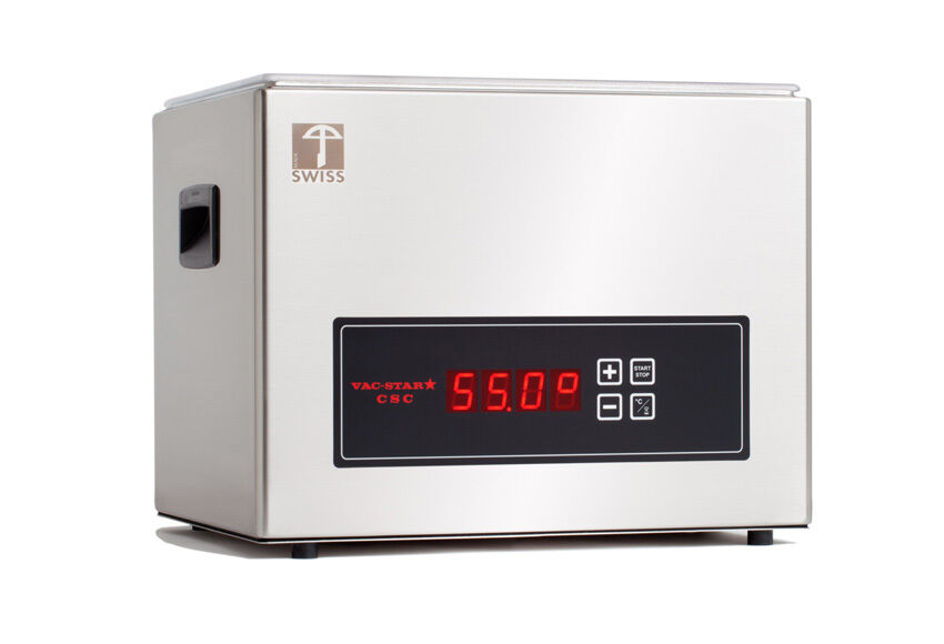 vac star csc compact sous vide wasserbad 9 liter ebay. Black Bedroom Furniture Sets. Home Design Ideas