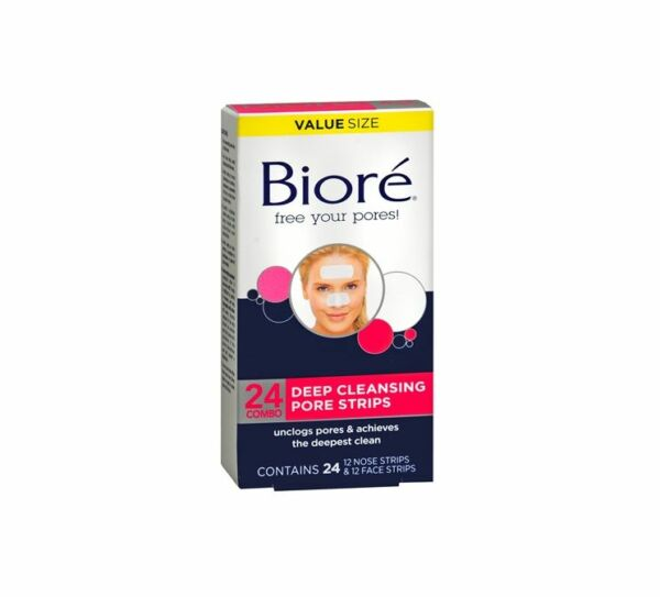 Biore Deep Cleansing Pore Strips Combo 24 ea