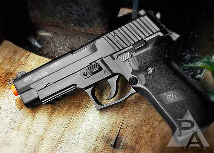 SIG Sauer P226 Full Metal GBB Airsoft Pistol Official Licensed Product | eBay