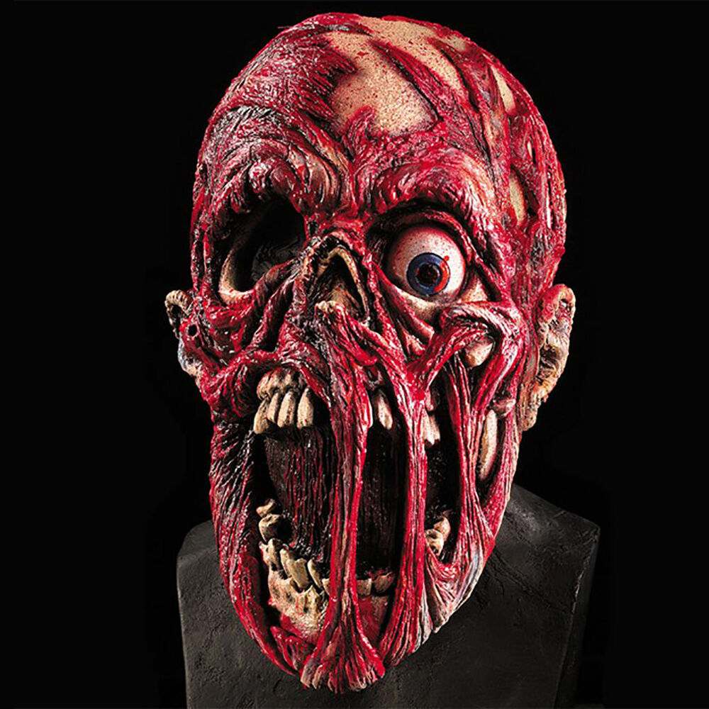 Scary Corpse Mask Monster Undead Zombie Creepy Skull ...  Scary Corpse Ma...