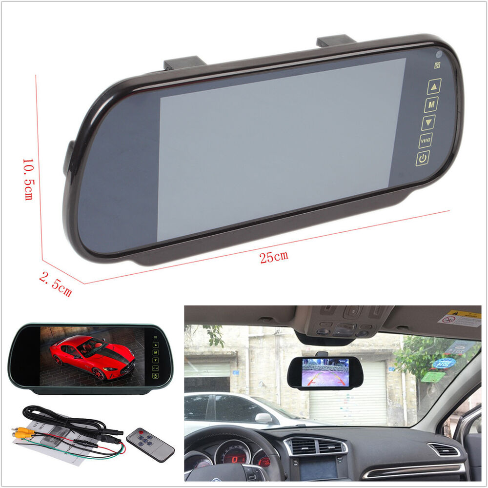 7 Quot Lcd Tft Color Screen Auto Car Reverse Parking Rear View