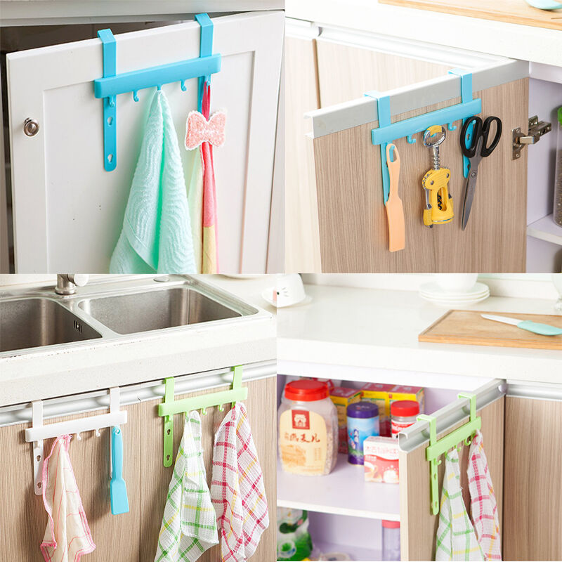 Home Decor Kitchen Plastic Clothes Hat Bag Hangers Hooks