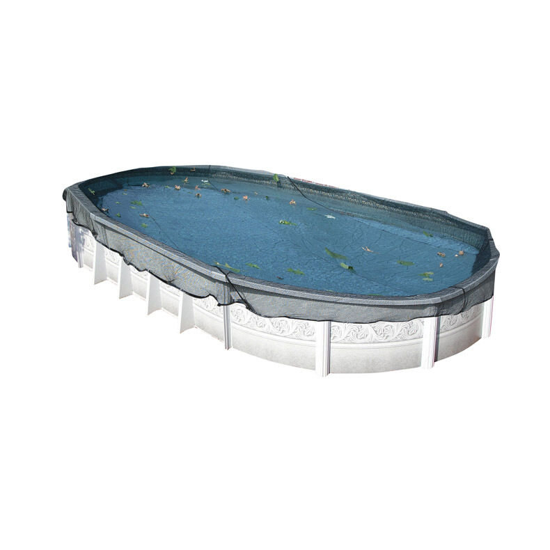 Deluxe leaf net for above ground oval pools ebay - Above ground oval swimming pools for sale ...
