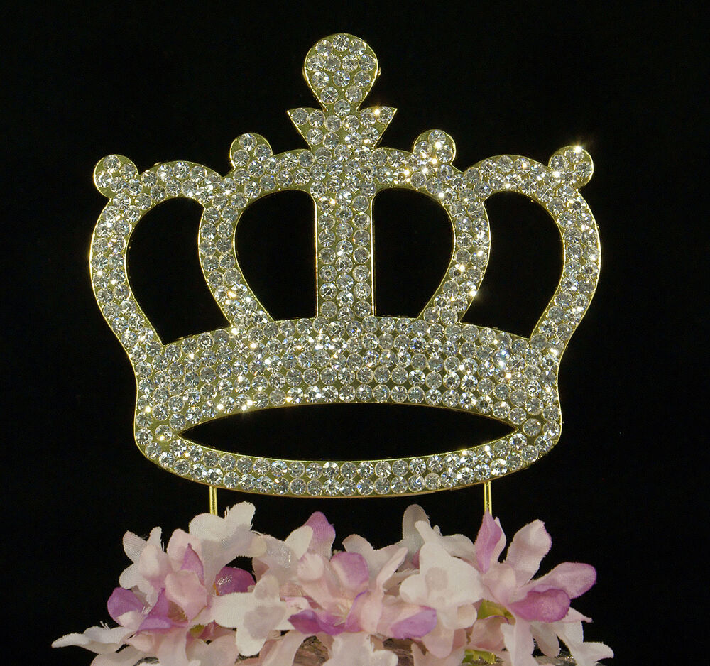 Crown Cake Toppers Uk