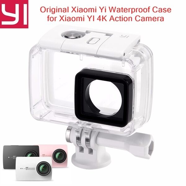 original xiaomi yi waterproof case diving 130ft for xiaomi. Black Bedroom Furniture Sets. Home Design Ideas