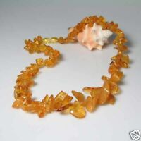 HAND CRAFTED BALTIC HONEY AMBER NECKLACE