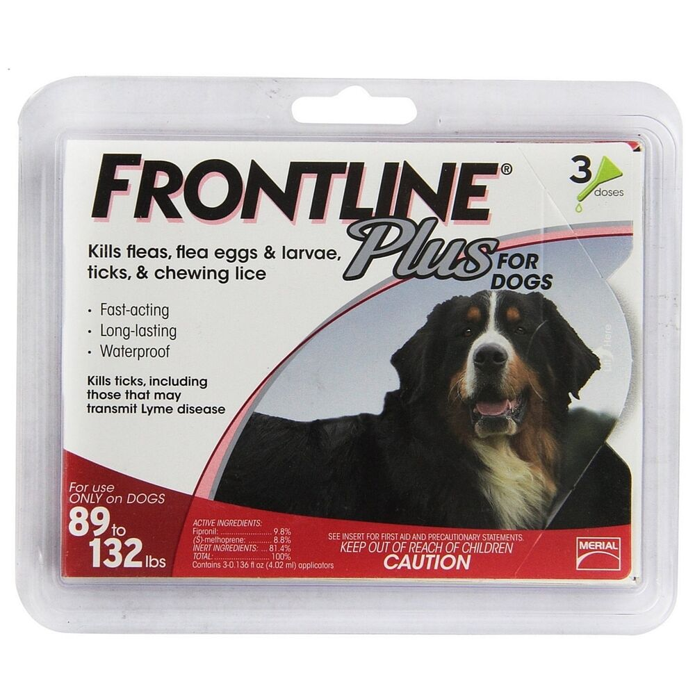 Frontline Plus For Large Dogs   Lbs