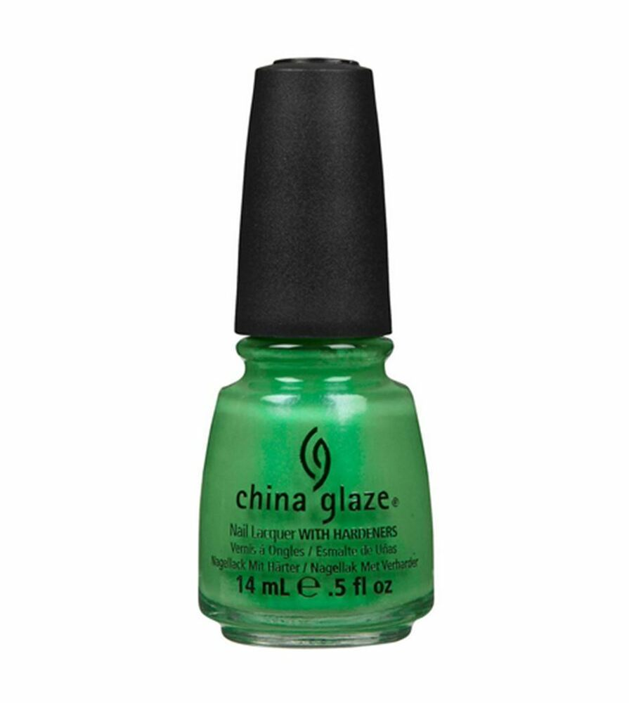 Black Nail Polish Ebay: China Glaze Nail Polish, In The Lime Light, 0.5 Oz