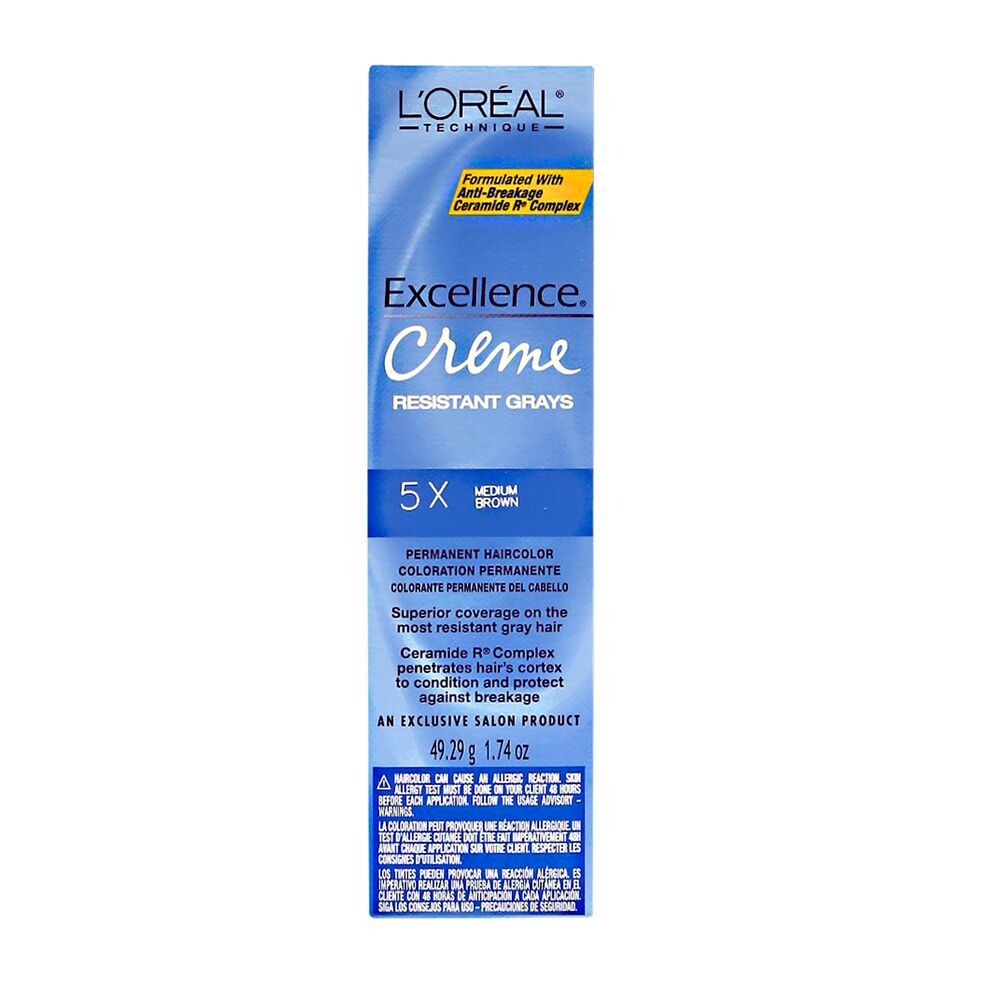 L Oreal Excellence Creme Resistant 5x Medium Brown 1 74