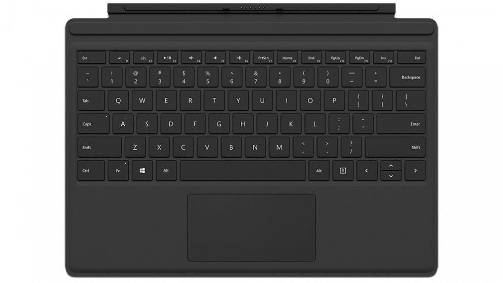 microsoft surface pro 4 type cover keyboard for surface. Black Bedroom Furniture Sets. Home Design Ideas
