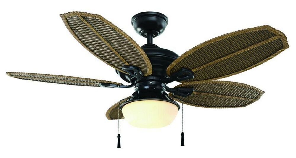 Outdoor Indoor 48 Ceiling Fan Outside Iron Light Kit